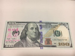 Wholesale Games Money - Earliest edition Money banknote USD100 for props and Education bank staff training paper play money Monopoly game not counterfeit currency