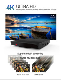 Wholesale Cheapest Android Tv - New Arrvial Cheapest Amlogic S912 Octa Core KM8P Android 6.0 Smart TV Box With KD Fully Loaded 4K IPTV Steaming Media Player