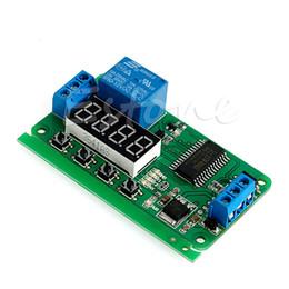 блокировка с задержкой по времени Скидка DC 12V многофункциональный Self-lock реле PLC таймер цикла модуль задержки переключатель времени