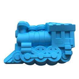 Wholesale Premium Training - Wholesale- Premium FDA-Grade Silicone Train Locomotive Cake Pan - Great for Kids and Parties!