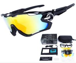 brand 5 LENS ciclismo galsses TR90 con scatola 15 colori igh Qualità nuovo JAWBREAKER Sport occhiali da sole polarizzati Donna Uomo occhiali esterni da