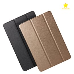 Wholesale Ipad2 Leather Cases - Silk Skin Smart Cover Case for iPad Mini 1 2 3 Air1 2 iPad2 3 4 Pro9.7 Ultral Slim PU Leather Stand