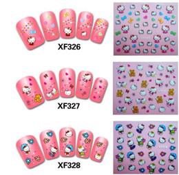Gli autoadesivi variopinti dei chiodi degli autoadesivi del chiodo 3D del chiodo delle unghie 3D DIY per le donne 50pcs liberano il trasporto supplier nail decoration 3d stickers da adesivi 3d di decorazione del chiodo fornitori