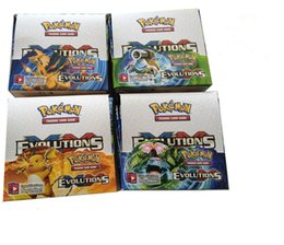 Wholesale Pc Kid Games - 2017 Poke Card series 324 pcs = 36 bags = a lot children adult Poke English card toy game trade card games A602814