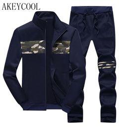 Wholesale Brand Track Pants - Wholesale-New Zipper Jacket + Pants Hoodies Winter Mens Camouflage Sweat Hoodies Brand Mens Track suit Sets Fleece Sporting Suit 16j56