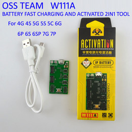 Wholesale Iphone 4s Activation - OSS TEAM W111A battery fast charging and activated plate 2IN1 tool Battery activation board for iphone 4G 4S 5G 5S 5C 6G 6P 6S 6SP 7G 7P