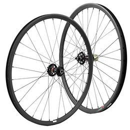 Wholesale Mountain Bike Tubeless - 27.5er 650B Carbon wheelset 35mm width mountain bicycle wheels tubeless 15*100 12*142 HUB