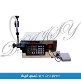 Wholesale Liquid Filling Machines - Digital Control Pump Drink Water Liquid Filling Machine KC-280 5-3500ml 220V EU US PLUG