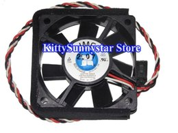 Wholesale 12v Cpu Fans - New JMC 6015 6CM 6015-12 LLS-A ASSY:400313 Fan:60291271-4 12V 0.10A 3 wires 3pin case fan cpu cooler