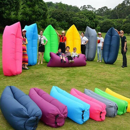Wholesale Wholesale Kids Lighted Toys - Ultra-light indoor outdoor portable lazy sofa folding inflatable sofa beach lazy air comfortable air sofa outdoor