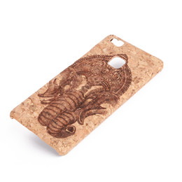 Wholesale Transparent Cell Phones For Sale - U&I ®Hot sales Retro Wood skins Hard PC Bumper Case for Huawei p9 lite cell phone case