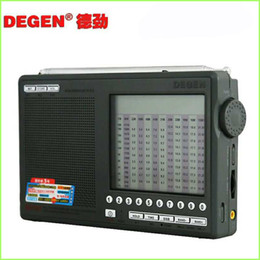 Wholesale Degen Sw Radio - Wholesale-1 pc Degen DE1103 DSP Radio FM SW MW LW SSB Digital World Receiver & External Antenna Radio FM Y4162H