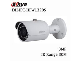 Wholesale Hd Poe - DAHUA IPC-HFW1320S 3MP HD 2.8mm Wide Angle Network Mini IR Bullet Camera ONVIF RTSP IP Special wide angle lens