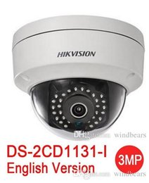 Wholesale Mini Dome Wireless Ip Camera - English version hikvision DS-2CD1131-I replace DS-2CD2135F-IS DS-2CD2135F-IWS 3MP network mini dome cctv camera POE IP camera H.264+