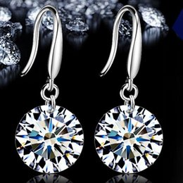 Cadeau mousseux boucles d'oreilles en zircon de mode charme oreille bijoux chaud nouvelle arrivée style style de haute qualité en gros ? partir de fabricateur