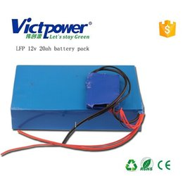 Wholesale Accept OEM order Victpower A123 S1P V aH Lifep04 battery pack with BMS for accumulator motor Storage device etc
