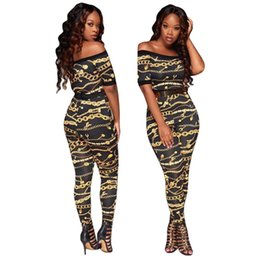 Wholesale cold dresses - 2018 Traditional African Clothing Cold Shoulder Short Sleeve Red Rose Printed Two Piece Sexy Long Dresses Plus Size Maxi Dresses
