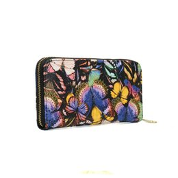 Wholesale Pvc Credit Card Holder - Zipper Lady Wallets Holders Animal Print Floral Clutch Bag Credit Card Package Geometric Multi-bit Fashion Women Phone Bag VKP1415