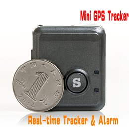 Wholesale Real Time Gps Systems - V8S Mini GPS Tracker Real Time Fast Positioning gps tracking system GPS GSM SMS GPRS Tracking Device & SOS Communicator Ann