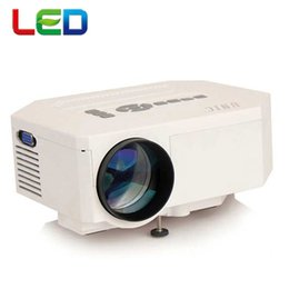 Wholesale Genuine Videos - Wholesale-Genuine UNIC UC30 Digital LED Video 3D HD Mini Projector support 1080P Perfect Home theater Projector proyector beamer