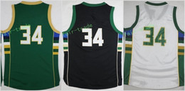 Wholesale Top Sale Cheap Jerseys - Hot Sale 34 Giannis Antetokounmpo Jersey Green White Black Cheap Top Quality Basketball Jerseys Fast Free Shipping With Player Name