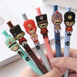 Wholesale Sign Supply Wholesalers - 20 Pcs lot Hot Sale Cartoon Cute Ball Point Pen Stationery High Quality Ballpoint Pens Sign Pen School Office Gift Supplies Papelaria