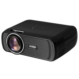 Wholesale Outdoor Education - Wholesale- TOPS Uhappy U80 LCD Projector 1000LM 800 x 480 Pixels Built-in Speaker For Office   Outdoor   Living   Bedroom Support 1080P