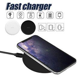 Note récepteur de chargeur sans fil en Ligne-Chargeur sans fil pour iPhone X Adaptateur de charge rapide Récepteur de charge universel pour Galaxy S9 S8 Plus Note 8 Téléphones de charge sans fil