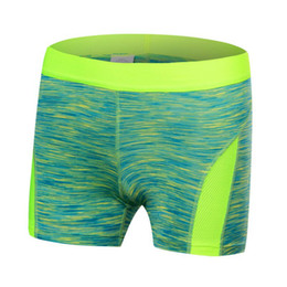 Wholesale Cool Compression - Wholesale- Women Yoga Shorts Summer Beach Cool Feminino Sport Running Fitness Gym Compression Shorts V2