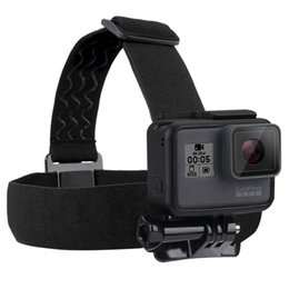 Wholesale Gopro Belt - Helmet Head Strap Adjustable Headstrap Mount Belt Anti-slide Glue Mount For Gopro Hero 2 3 3+ 4 Sj4000 Sport Camera Accessiories