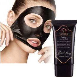 Wholesale Olive Face Cream - Deep Cleaning Face Mask ONE1X Purifying Peel-off Mask Blackhead Whitehead Remover Peel-Off Facial Activated Natural Charcoal Mask