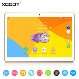 Wholesale Android Tablet Gsm 4g - Wholesale- XGODY S960 9.6 inch 4G LTE Tablet PC Android 5.1 MT6735 Quad Core 1GB RAM 16GB ROM WiFi OTG GPS 5.0MP GSM WCDMA 4000mAh