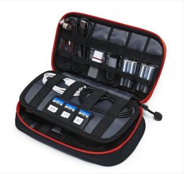 Wholesale Earphone Soft Case - Tourit New Travel Bags Data Cable Practical Earphone Wire Storage Bag Power Line Organizer Electric Bag Flash Disk Case Digital