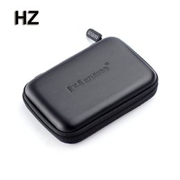 Wholesale Multipurpose Storage Box - Original HZ High End Earphone Accessories Multipurpose Earphone Case Portable Storage Bag Box Headphone Accessories FreeShipping