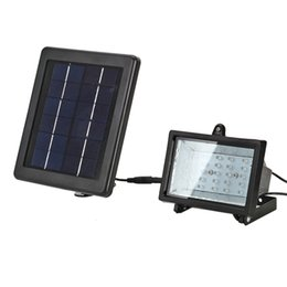 Wholesale Project Lights - Solar Led Flood Lights 30 Leds floodlight Outdoor Projecting Landscape Garden Lawn Lamp Solar Power Wall lamps
