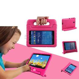 Wholesale Tablet Bags For Kids - EVA Kid Tablet Stand Case for Samsung Tab S T715 T800 T550 T230 T330 T113 Tab 4 10.1 Opp Bags