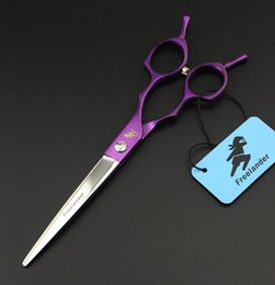 Wholesale Haircut Shears - 6.5 inch Professional Shears Dog Pet Grooming straight Scissor Polishing Tool Animal Haircut
