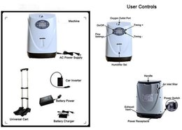 Wholesale 95 Cars - LoveGo LG102 portable oxygen concentrator compared with simplygo 1-5LPM 95% 2 hours battery operatred  Free shipping to worldwide by DHL