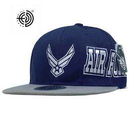 Wholesale Cool Air Force - Wholesale- Army Air Force Style USA Snapback Hat Hip Hop Cool Flat Cap Skateboard Arkour Street Flat Caps Tapa USA Snapback Hat