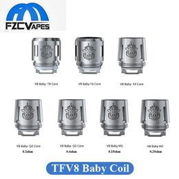 Wholesale Original SMOK TFV8 Baby Beast Coil V8 Baby M2 ohm ohm T8 X4 T6 Q2 for SMOK GX2 kIT