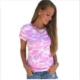 Wholesale Army Uniform T Shirts - Plus Size XXXL T-shirt female blusa tumblr camouflage prints tops & t short sleeves women t shirt military uniform casual top tees