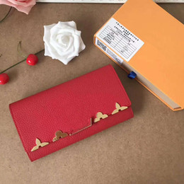 Wholesale Christmas Ornaments Flowers - CAPUCINES Wallet Matching the emblematic Capucines bag flower ornaments high quality famous designer women day clutch purse handbag