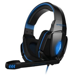Wholesale Original Pro Headphones - Original EACH G4000 Pro Gaming Headset Stereo Sound 2.2M Wired Headphone Noise Reduction with Microphone for Smartphone   PC