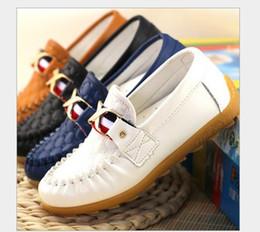 82a31d754d4bd Chaussures enfants printemps automne Toddler Little Boys chaussures  mocassins enfants Slip-on PU cuir chaussures casual pour enfants chaussures  en cuir pour ...