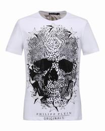 Wholesale Short Sleeved Mens Shirts - Skull & Stars Mens T-Shirt 3D Printed Medusa Diamond Male T Shirt Luxury Short-Sleeved Shirts Cotton Summer Tops Men's Tee Shirt 18279