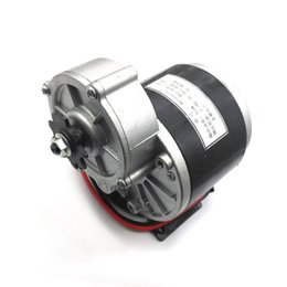 Wholesale 24v Geared Motor - 350w 24v Gear Motor, Motor Electric Tricycle Brush DC Motor Gear Brushed Motor Electric Bike, My1016z3