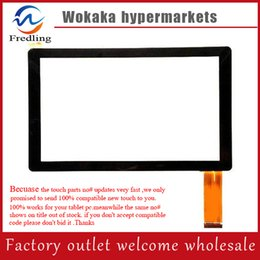 "q8 a23 tablet Promo Codes - Wholesale- 7"" Inch Capacitive Touch Screen PANEL Digitizer Glass Replacement for Allwinner A13 A23 A33 Q88 Q8 Tablet PC pad"