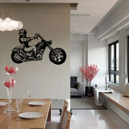 Wholesale Dirt Bike Decals - New Motorcycle Racer Dirt wall stickers motor Bike Sport Vinyl Art Decal Removable Wall Sticker Home Decor Decal