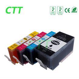 Wholesale Compatible Format - CTT 4 pcs 920XL ink cartridges Compatible For HP920 6000 6500 7000 6500a 7500a 6500 Wireless 7000a 7000se 7000 Wide Format Printer