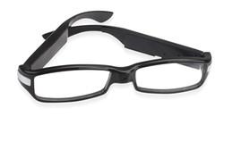 Wholesale Hd Spy Camera Glass - HD 1920*1080 5MP V12 Glasses Hidden spy Camera Mini DVR Motion Detection Video Recorder spy support 8GB 16GB 32GB optional